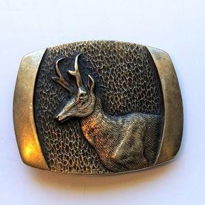 VTG Steven L Knight Pronghorn Antelope Buckle